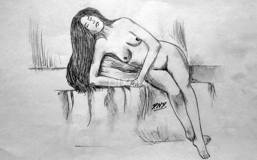 pencil-drawings-of-sexy-naked-women