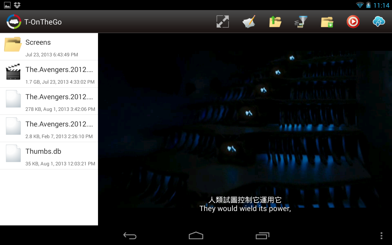 T-OnTheGo - screenshot