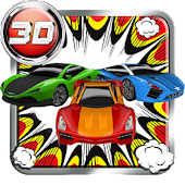 3D Superhero Racing Game