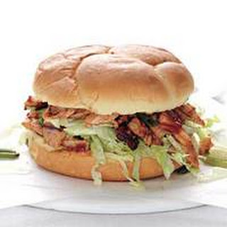 Tex-Mex Pulled Turkey Sandwich.