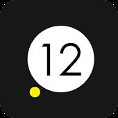 Yellow Dot Clock