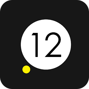 Yellow Dot Clock