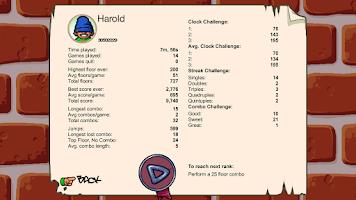 Screenshot of Icy Tower Retro