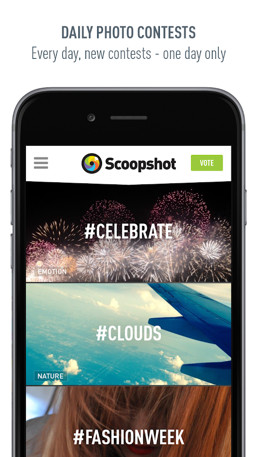 Scoopshot – Screenshot