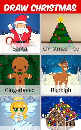 クリスマスを描く