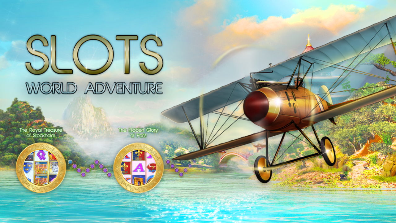 Slots - World Adventure - screenshot