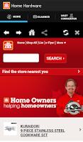 Screenshot of Home Hardware