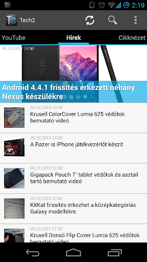 Tech2.hu for Android