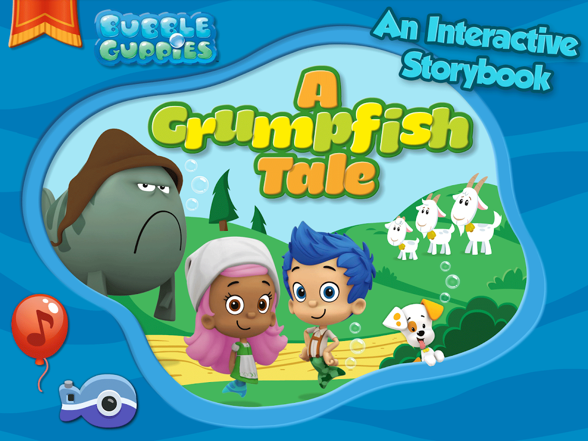 Bubble guppies grumpfish hd android apps on google play