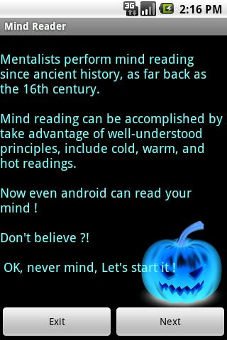 Mind Reader - screenshot