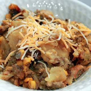 Slow Cooker Hamburger & Potato Casserole