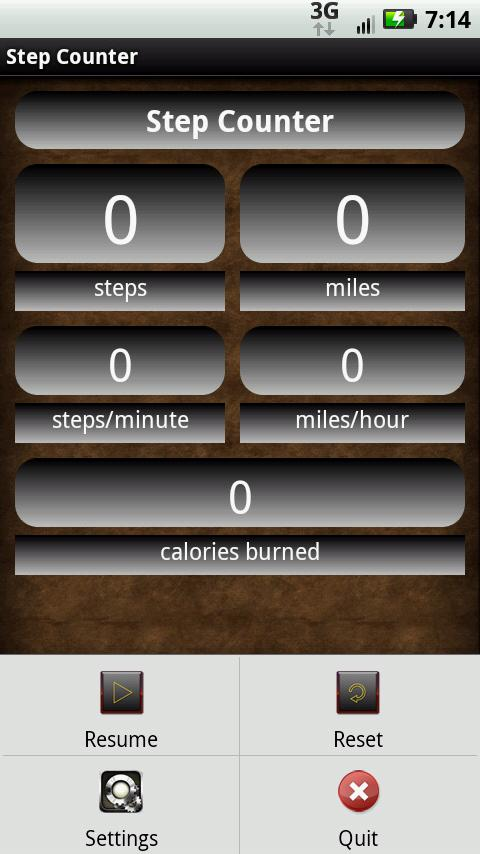 Step Counter Pedometer - screenshot