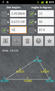 Universal Triangle Solver - screenshot thumbnail