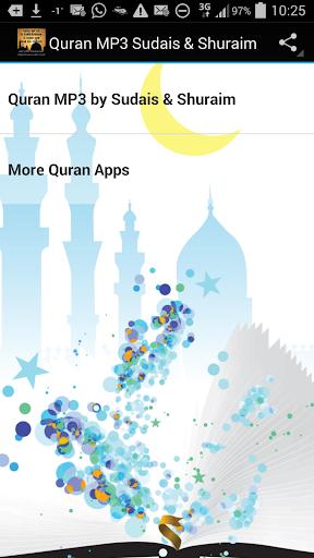 Quran MP3 Sudais Shuraim