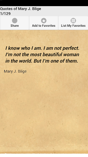 Quotes of Mary J. Blige