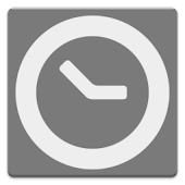 Clock and event widget