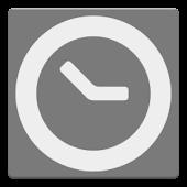 Clock and event widget