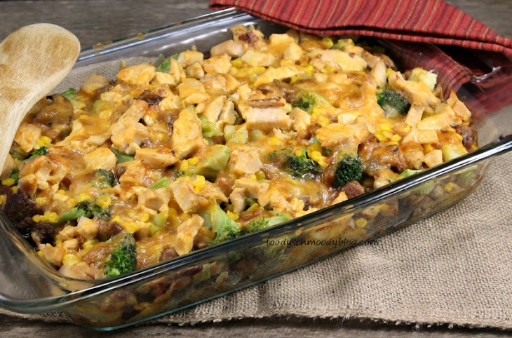 Leftover Turkey and Stuffing Casserole Recipe