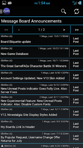 Screenshots for GameRaven