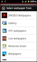 Screenshot of DROID3 Wallpapers