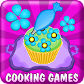 Pancy Cupcakes Cooking Games icon