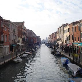 Murano (Murano, Italy) by Pipia Kanjeva - City,  Street & Park  Street Scenes (  )