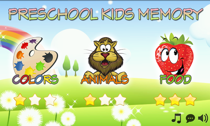 kids memory games free screenshot