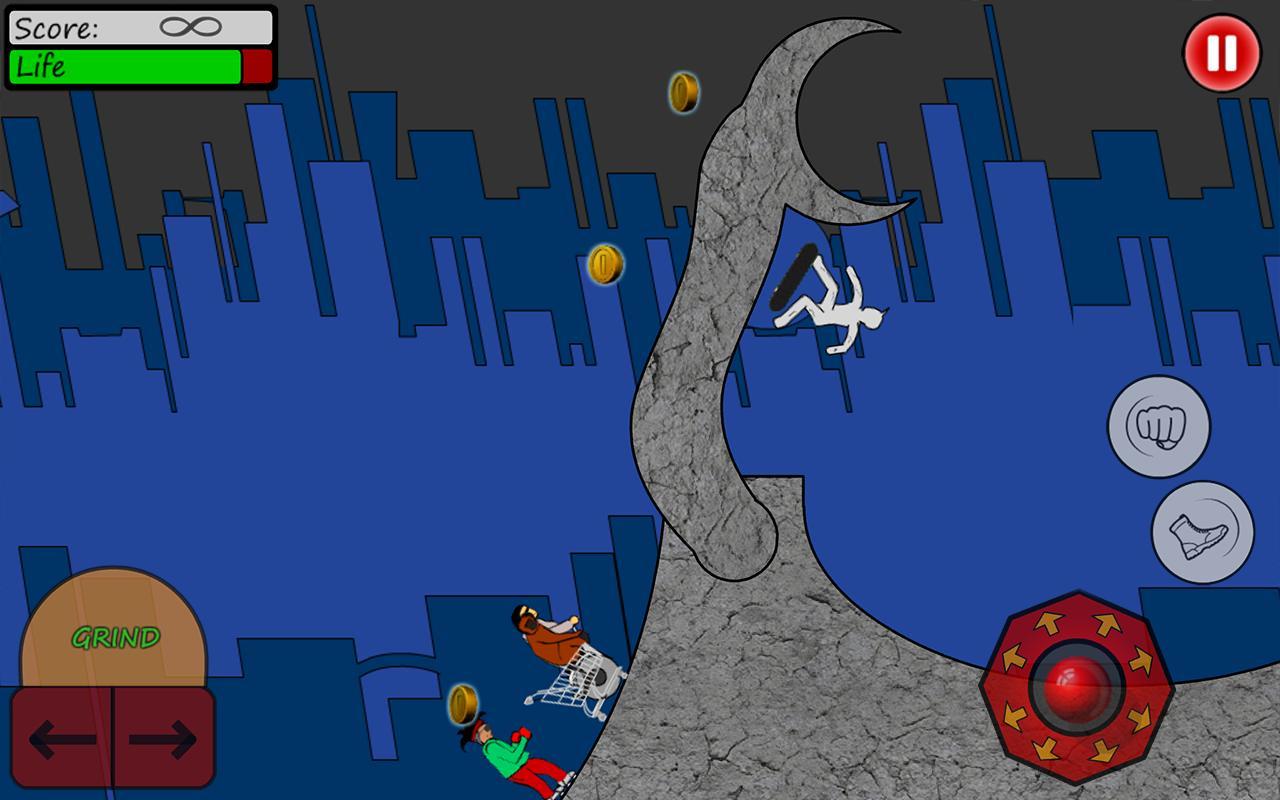 Skate Fighter- screenshot