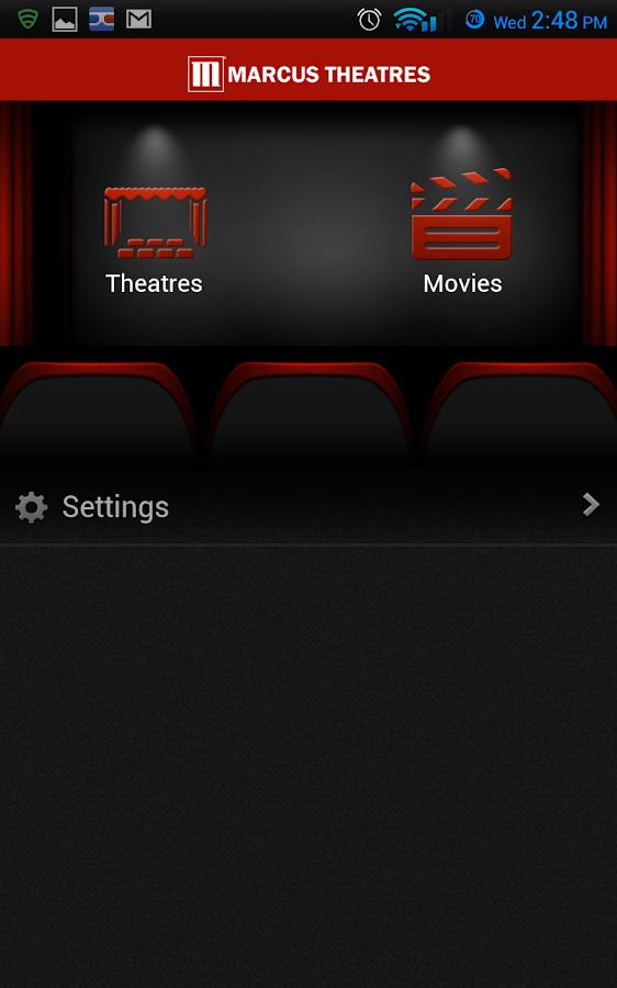 Marcus Theatres - screenshot