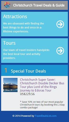 Christchurch Travel Deal Guide