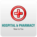 Hospital and pharmacy finder icon