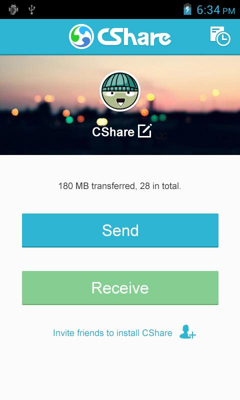 CShare - screenshot
