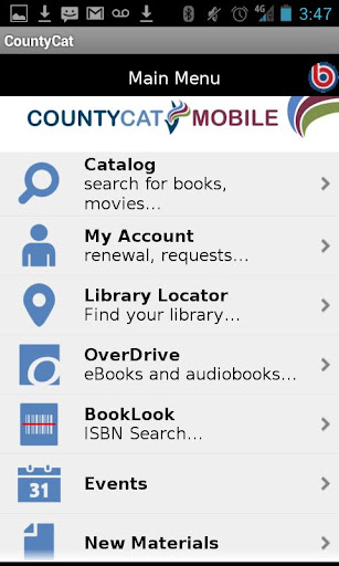 CountyCat Mobile Catalog