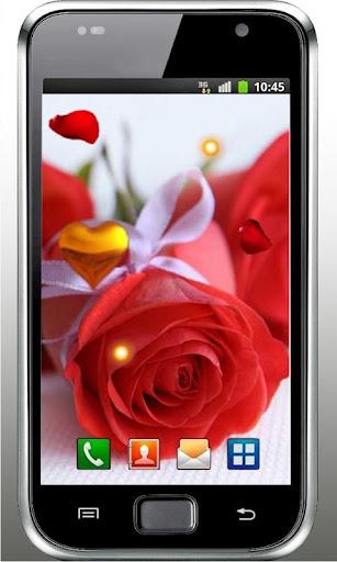Valentine Flowers Girl LWP