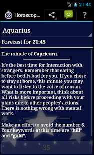Horoscope a Minute- screenshot thumbnail