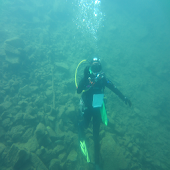Lake Mendota Diving Temps