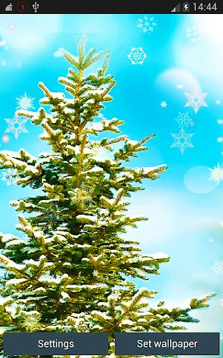Realistic Christmas Trees HD