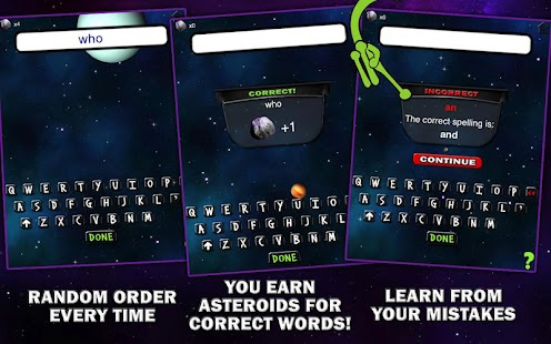 Spelling Space - 1st Grade- screenshot thumbnail