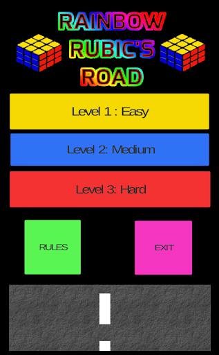 Rainbow Rubics Road