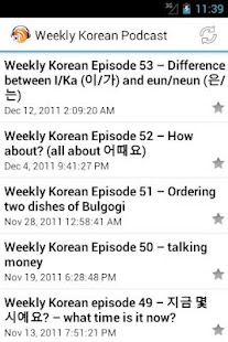 Korean Podcasts for Learners - screenshot thumbnail