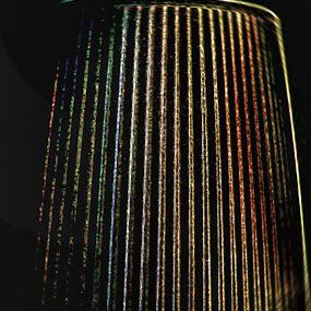 Matt Metal Colors of Lamp Hood by Nat Bolfan-Stosic - Artistic Objects Other Objects ( frame, metal colors, lamp, desk, matt )