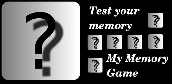 My Memory Game 1.0 apk