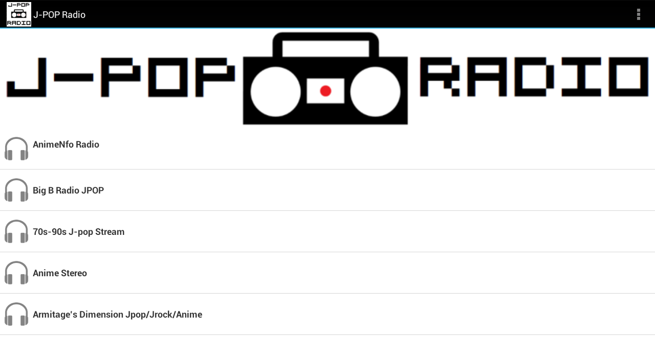 J-POP Radio- screenshot