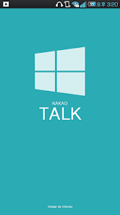 Kakao talk theme window8 metro