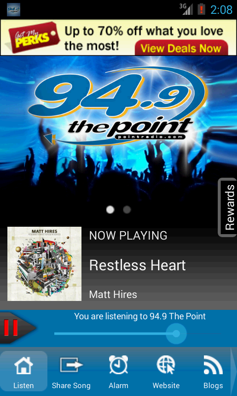 94.9 The Point, Sound of Now- screenshot