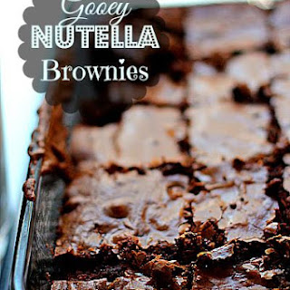 Freshly Baked Fridays – Nutella Chronicles Present Nutella Fudge Brownies
