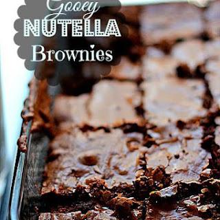 Freshly Baked Fridays – Nutella Chronicles Present Nutella Fudge Brownies