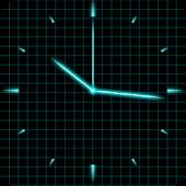 Laser Analog Clock Free