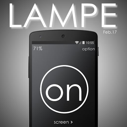 LAMPE - Flash Screen Light