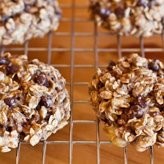 Banana Oatmeal Chip Cookies.